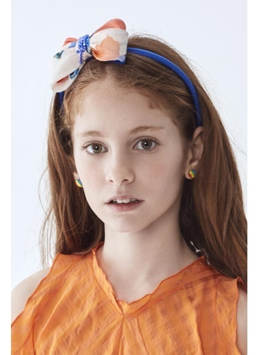 Lia Lea Kız Çocuk Oranj Taç Oranj
